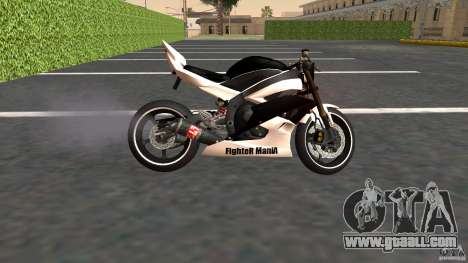 Yamaha YZF-R6 Street Fighter for GTA San Andreas