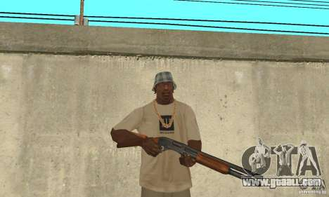 M870 for GTA San Andreas