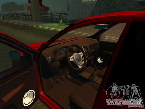 Lada 2170 for GTA San Andreas back view
