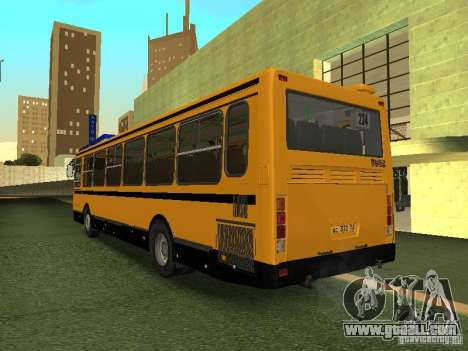 LIAZ 5256.26-01 for GTA San Andreas back left view