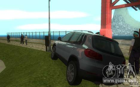 Volkswagen Tiguan 2012 for GTA San Andreas right view