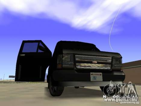 Burrito HD for GTA San Andreas left view