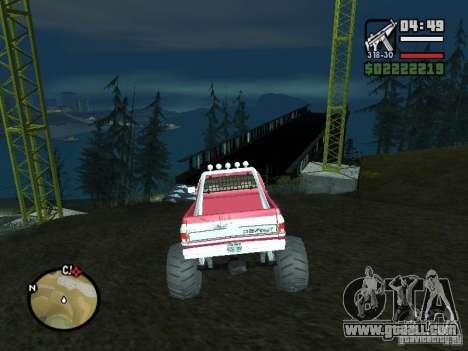 Monster tracks v1.0 for GTA San Andreas third screenshot