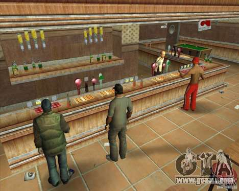 Salierys Bar for GTA San Andreas sixth screenshot