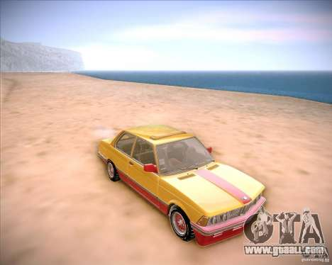 BMW E21 for GTA San Andreas back view