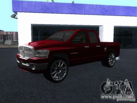 Dodge Ram 1500 v2 for GTA San Andreas right view