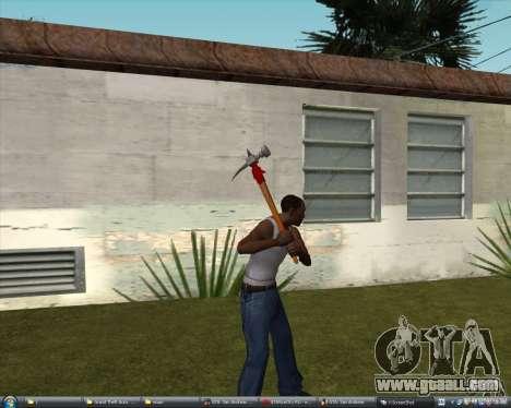 Hammer of Assassins Creed Brotherhood for GTA San Andreas second screenshot