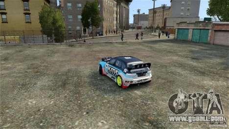 Subaru Impreza WRX STI Rallycross KMC Wheels for GTA 4 inner view