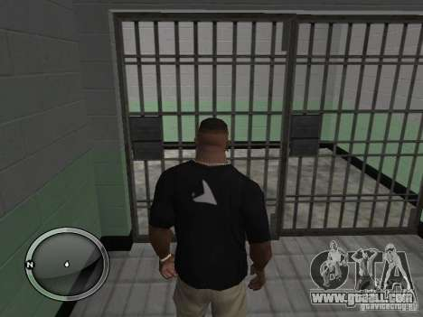The arrest of violator-3 for GTA San Andreas