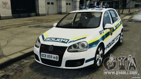 Volkswagen Golf 5 GTI South African Police [ELS] for GTA 4