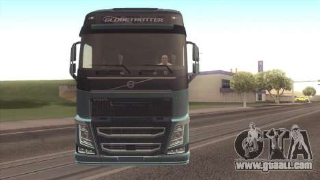 Volvo FH 2013 for GTA San Andreas left view