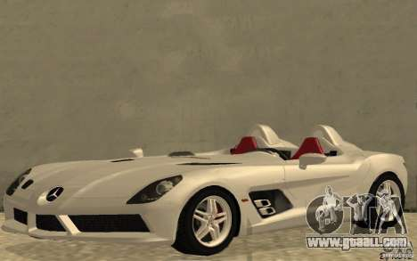 Mercedes-Benz SLR McLaren Stirling Moss for GTA San Andreas