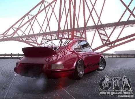 Porsche Carrera RS for GTA San Andreas left view