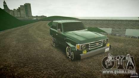 Toyota Land Cruiser 4.5 V2 for GTA 4 back view