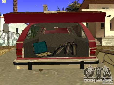 Mercury Grand Marquis Colony Park for GTA San Andreas back view