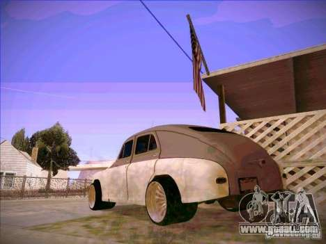 GAZ m 20 Winning 1956 for GTA San Andreas left view