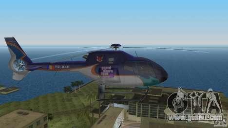 Eurocopter Ec-120 Colibri for GTA Vice City back left view
