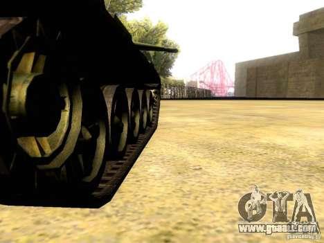 Type 59 V2 for GTA San Andreas inner view