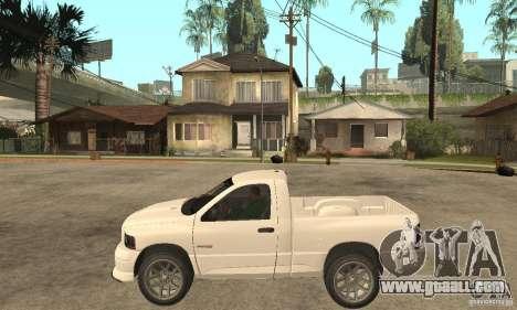 Dodge Ram SRT 10 for GTA San Andreas left view