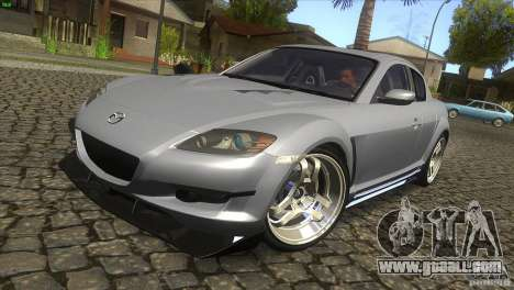 Mazda RX-8 for GTA San Andreas