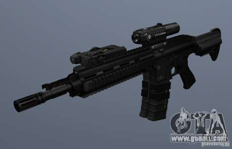 HK416 rifle for GTA San Andreas third screenshot