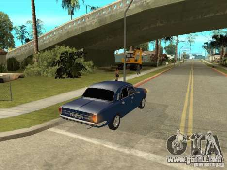 GAZ 24-10 for GTA San Andreas right view