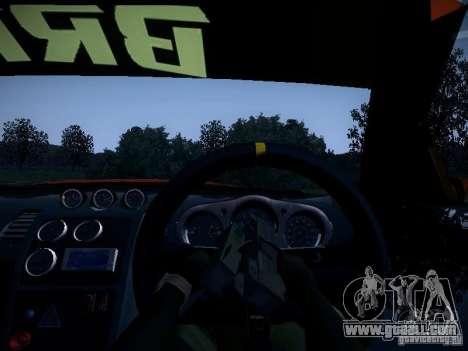 Nissan 370Z Chris Forsberg for GTA San Andreas upper view