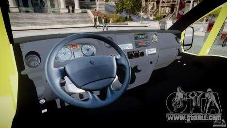 Renault Master 2007 Ambulance Scottish for GTA 4 upper view