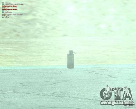 [Point Blank] WP Smoke for GTA San Andreas second screenshot