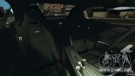 Mercedes-Benz SLK 55 AMG 2010 for GTA 4 inner view