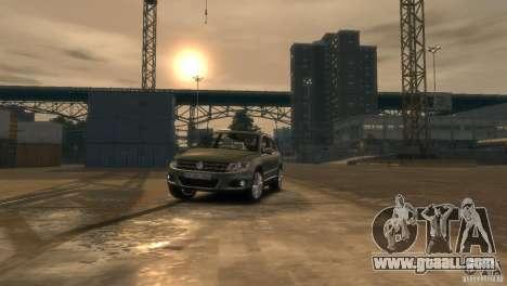 Volkswagen Tiguan for GTA 4 side view