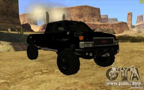 GMC Topkick Ironhide TF3 for GTA San Andreas