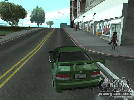 Honda Civic Si Sporty for GTA San Andreas left view