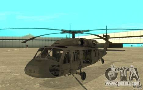 UH-80 for GTA San Andreas left view