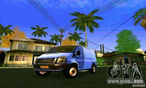 Ford Transit SWB 2011 for GTA San Andreas