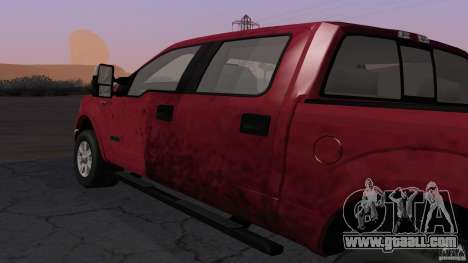 Ford F-150 Platinum Final 2013 for GTA San Andreas right view