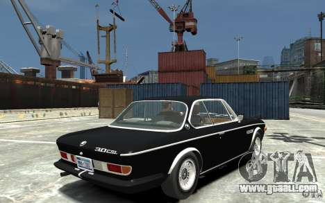 BMW 3.0 CSL E9 1971 for GTA 4 right view