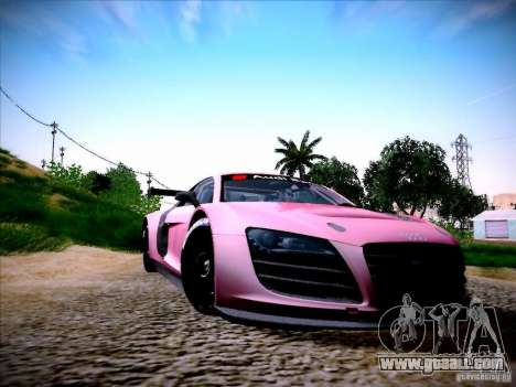 Audi R8 LMS v2.0 for GTA San Andreas left view