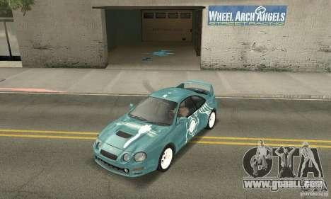 Toyota Celica GT-Four v1.1  1994 for GTA San Andreas
