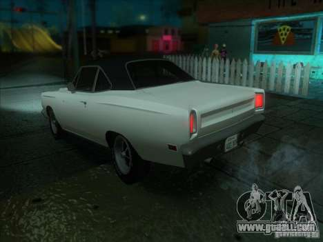 Plymouth Roadrunner 440 for GTA San Andreas right view
