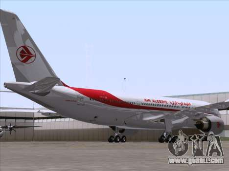 Airbus A330-203 Air Algerie for GTA San Andreas right view