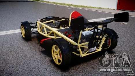 Ariel Atom 3 V8 2012 for GTA 4 back left view