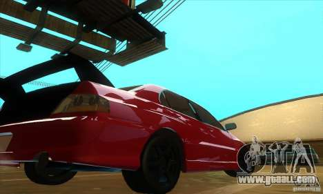 Mitsubishi Lancer Evolution IX Carbon V1.0 for GTA San Andreas right view