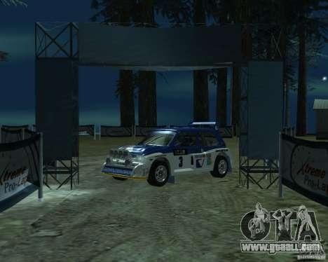 MG Metro 6M4 Group B for GTA San Andreas left view