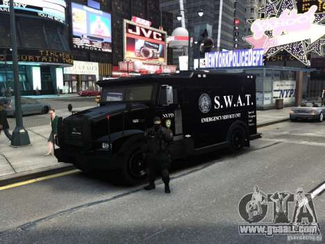 SWAT - NYPD Enforcer V1.1 for GTA 4