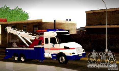 Volvo NH12 Towtruck for GTA San Andreas right view