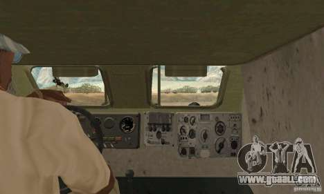 BRDM-1 Skin 1 for GTA San Andreas back view