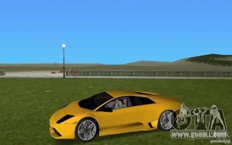 Lamborghini Murcielago LP640 for GTA Vice City back view