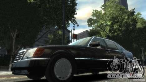 Mercedes-Benz 600SEL wheel2 non-tinted for GTA 4 left view