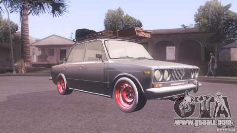 VAZ 2106 Tuning Rat Style for GTA San Andreas left view